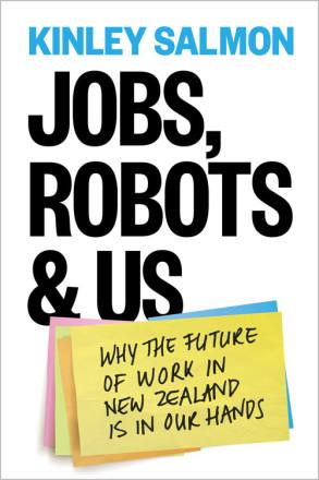 Jobs, Robots & Us's cover